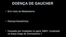 Análise de mutações no gene GBA1 em pacientes com Doença de Gaucher