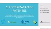 Clusterização de patentes - tratamento de dados do conteúdo de patentes visando auxiliar análise tecnológica