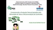 Compreensão e Produção Textual Apoiadas pela Mineração de Texto e Recomendação de Conteúdos