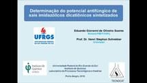 Determinação do potencial antifúngico de sais imidazólicos dicatiônicos sintetizados