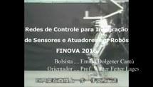 Redes de Controle para integração de sensores e atuadores em robô