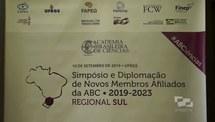 Diplomação de novos membros da Academia Brasileira de Ciências
