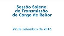 Sessão solene de transmissão do cargo de reitor da UFRGS