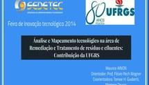 Ánalise e Mapeamento tecnológico nas áreas Remediação de áreas contaminadas e de tratamento de efluentes: Contribuições da UFRGS