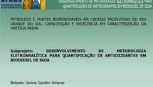 Desenvolvimento de metodologia eletroanalítica para quantificação de antioxidantes em biodiesel de soja