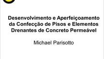 Desenvolvimento e Aperfeiçoamento da Confecção de Pisos e Elementos de Concreto Permeável