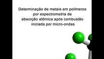 Determinação de metais em polimeros por espectrometria de absorcao atomica apos combustao iniciada por micro-ondas