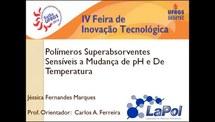 Polímeros Superabsorventes Sensíveis a Mudança de pH e de Temperatura