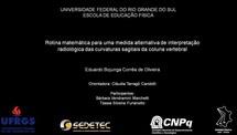 Rotina matemática para uma medida alternativa de interpretação radiológica das curvaturas sagitais da coluna vertebral