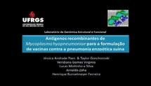 Antígenos recombinantes de Mycoplasma hyopneumoniae para a formulação de vacinas contra pneumonia enzoótica suína