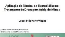 Aplicação da Técnica de Eletrodiálise no Tratamento de Drenagem Ácida de Minas