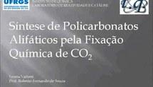 Síntese de Policarbonatos Alifáticos pela Fixação Química de CO2